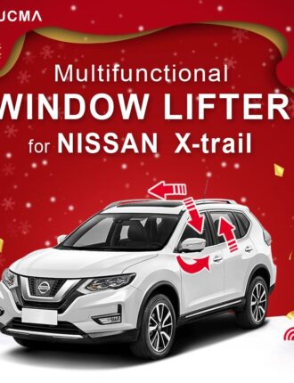 Window Closer Lift window close rearview folding closeing for NISSAN X-Trail XTrail sunroof close Car Alarm Accessories